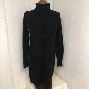 Womens NEW Black Sweater Dress. Large